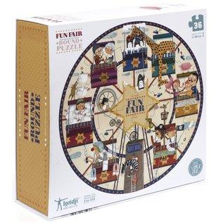 Londji Fun Fair Round 36 Piece Puzzle by Londji