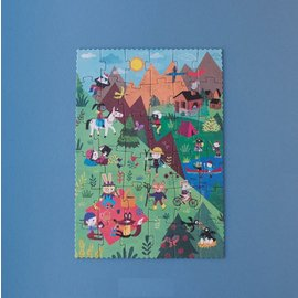 Londji Let's go to the Mountains Reversible 36 Piece Puzzle