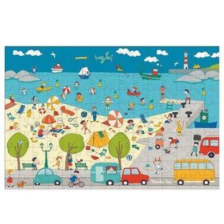 Moulin Roty At the Seaside 150 Piece Puzzle by Moulin Roty