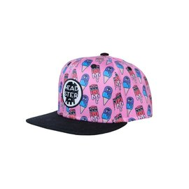 Headster Monster Freeze Pink Hat by Headster