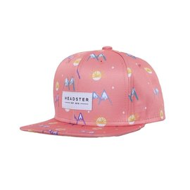 Headster Pink Mountain Lover Hat by Headster