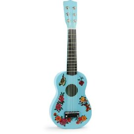 Vilac Wooden Guitar with Art by Nathalie Lete