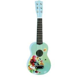 Vilac Wooden Guitar with Woodland Design