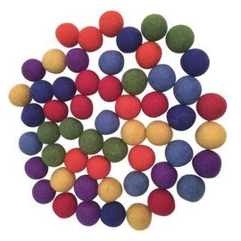 Papoose Rainbow Balls 3.5cm 49 Pieces