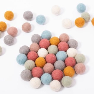 Papoose Earth Balls 3.5cm 49 Pieces
