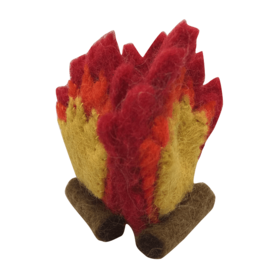 Papoose Wool Felt Mini Fire