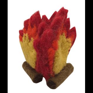 Papoose Wool Felt Mini Fire