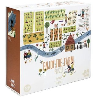 Londji Enjoy the Farm 100 Piece Puzzle by Londji