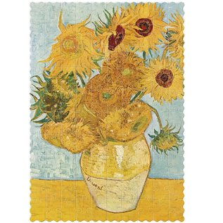Londji Sunflowers by Van Gogh 100 Piece Puzzle by Londji