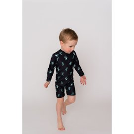 "Tyed Clothing One Piece UV Sunsuit ""Charlie"" Print by Tyed Clothing"