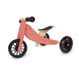 Kinderfeets Coral Tiny Tot Balance Bike by Kinderfeets