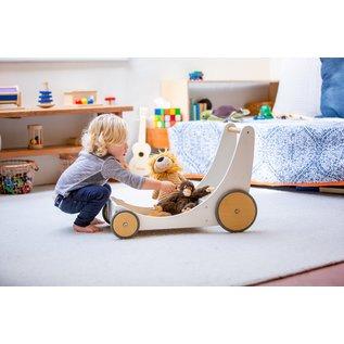 Kinderfeets White Cargo Walker by Kinderfeets