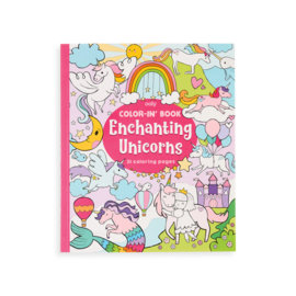 Ooly Enchanted Unicorns Colouring Book