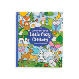 Ooly Little Cozy Critters Colouring Book