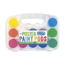 Ooly Paint Pods Classic 12 Washable Colours by Ooly
