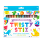 Ooly Twisty Stix Oil Pastels - Set of 12 by Ooly