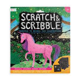 Ooly Magical Unicorns Scratch & Scribble by Ooly