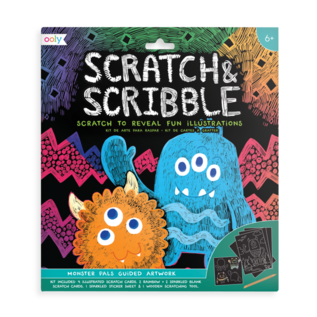 Ooly Monster Pals Scratch & Scribble by Ooly