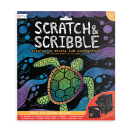Ooly Ocean Life Scratch & Scribble by Ooly