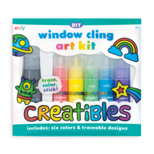 Ooly Creatibles DIY Window Cling Art Kit by Ooly