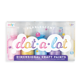 Ooly Pearlescent Dot-A-Lot Craft Paints Set of 5 by Ooly