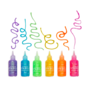 Ooly Rainbow Sparkle Glitter Glue - Set of 6 by Ooly