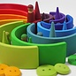 Grimms Wooden Stacking Rainbow - Large 12 Piece by Grimms