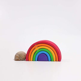 Grimms Wooden Stacking Rainbow - Small 6 Piece by Grimms