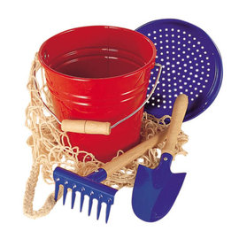 Gluckskafer Sand Bucket 4 Piece Play Set by Gluckskafer