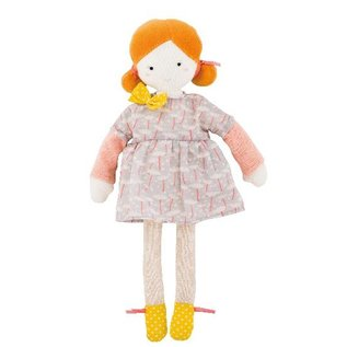 Moulin Roty Mademoiselle Blanche Doll 26cm by Moulin Roty