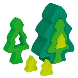 Grimms Fir Tree (3 Pieces) by Gluckskafer