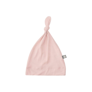Kyte Baby Blush Colour Bamboo Knotted Caps by Kyte Baby