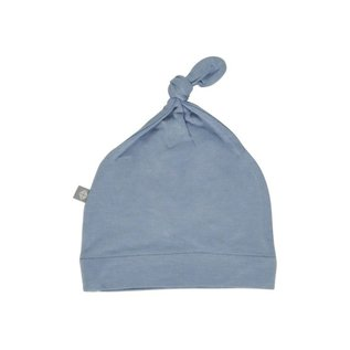 Kyte Baby Slate Colour Bamboo Knotted Caps by Kyte Baby