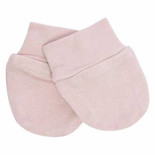 Kyte Baby Blush Colour Bamboo Infant Scratch Mitten by Kyte Baby