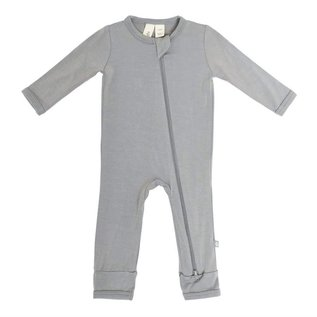 Kyte Baby Chrome Colour Zippered Bamboo Romper by Kyte Baby