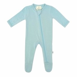 Kyte Baby Seafoam Colour Zippered Bamboo Footie by Kyte Baby