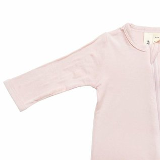 Kyte Baby Blush Colour Zippered Bamboo Footie by Kyte Baby