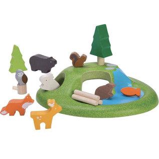 Plan Toys Animal Set by Plan Toys