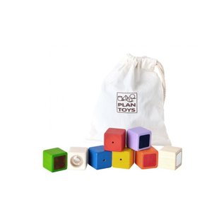 Plan Toys Wooden Activity Blocks by Plan Toys