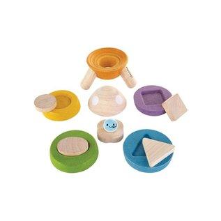 Plan Toys Stacking Rocket by Plan Toys