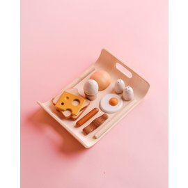 Plan Toys Breakfast Menu Play Food by Plan Toys