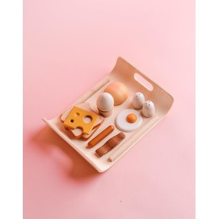 Plan Toys Breakfast Menu Play Food by Plan Toys