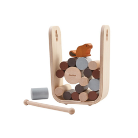 Plan Toys Timber Tumble Game by Plan Toys