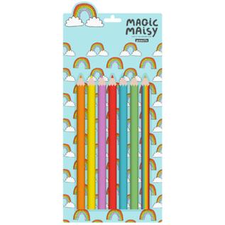 Rainbow Assortment Colouring Pencils