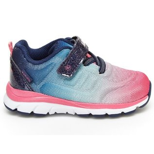 Stride Rite Navy Multicolour Made 2 Play Cora Runner by Stride Rite
