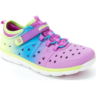 Stride Rite Magenta Multi Made 2 Play Phibian Summer Shoe by Stride Rite