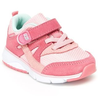 Stride Rite Pink Made 2 Play Ace Shoe by Stride Rite