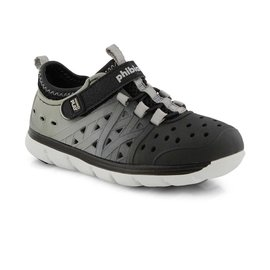 Stride Rite Black/Grey Made 2 Play Phibian Summer Shoe by Stride Rite