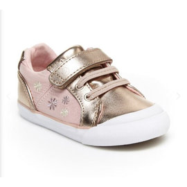Stride Rite Rose Gold SR Parker Sneaker by Stride Rite