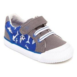 Stride Rite Grey SR Parker Sneaker by Stride Rite
